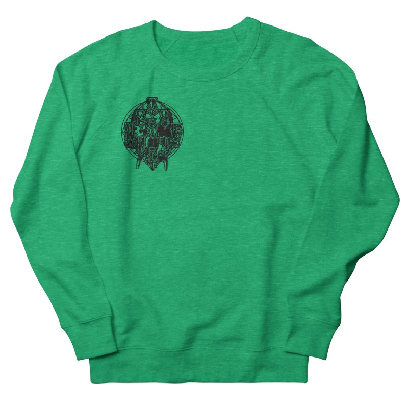 CasaNorte - WarApeB Men's French Terry Sweatshirt by Casa Norte's Artist Shop