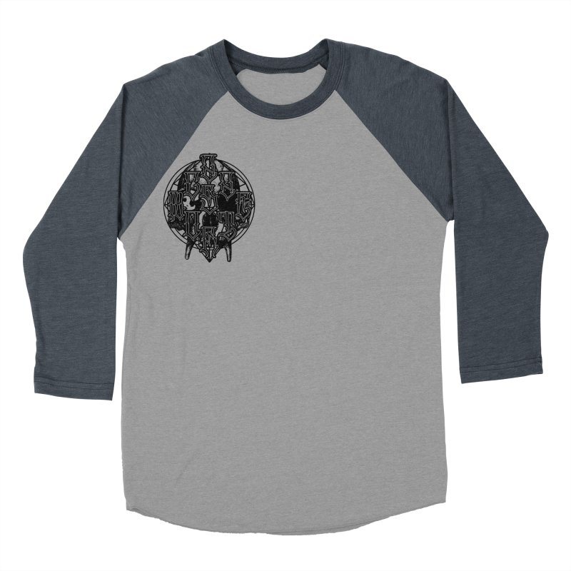 CasaNorte - WarApeB Men's Baseball Triblend Longsleeve T-Shirt by Casa Norte's Artist Shop