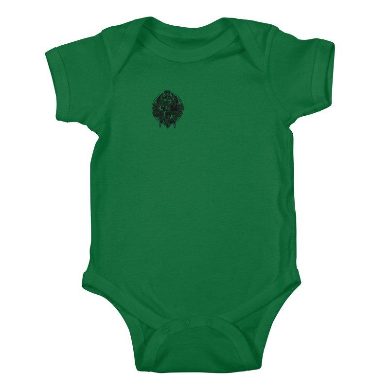 CasaNorte - WarApeB Kids Baby Bodysuit by Casa Norte's Artist Shop