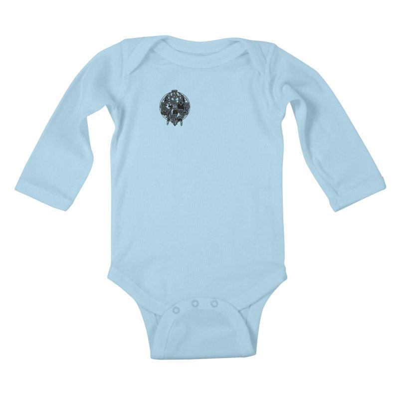 CasaNorte - WarApeB Kids Baby Longsleeve Bodysuit by Casa Norte's Artist Shop