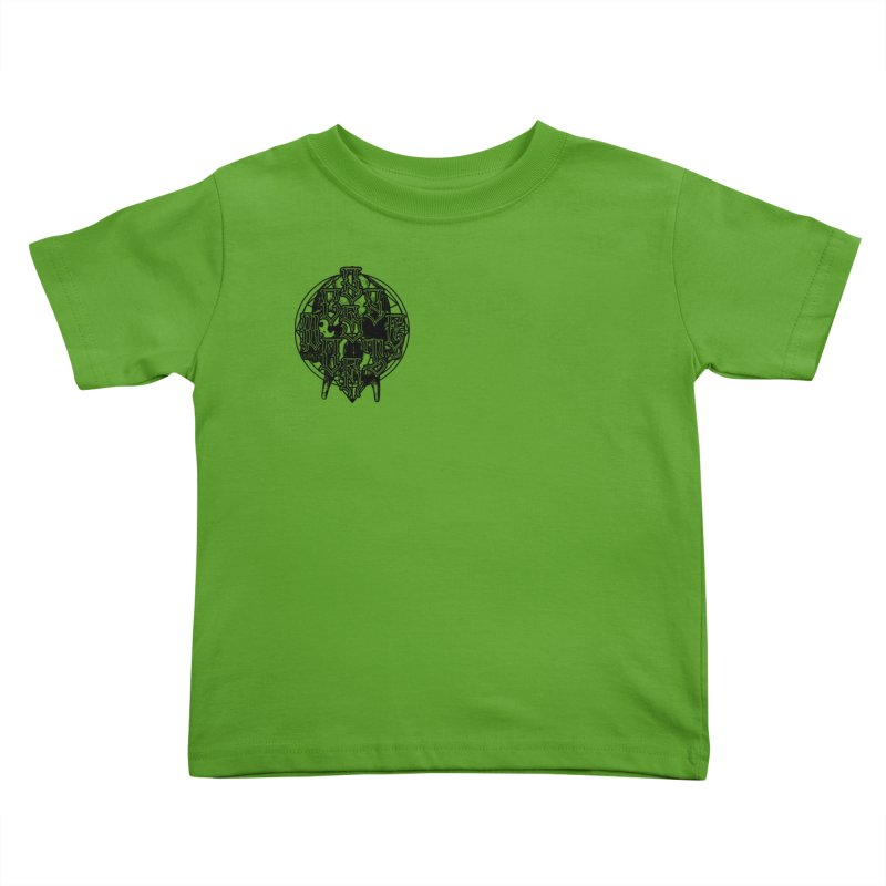 CasaNorte - WarApeB Kids Toddler T-Shirt by Casa Norte's Artist Shop