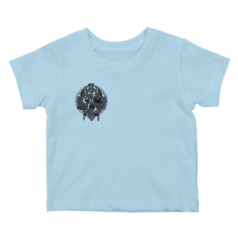 CasaNorte - WarApeB Kids Baby T-Shirt by Casa Norte's Artist Shop