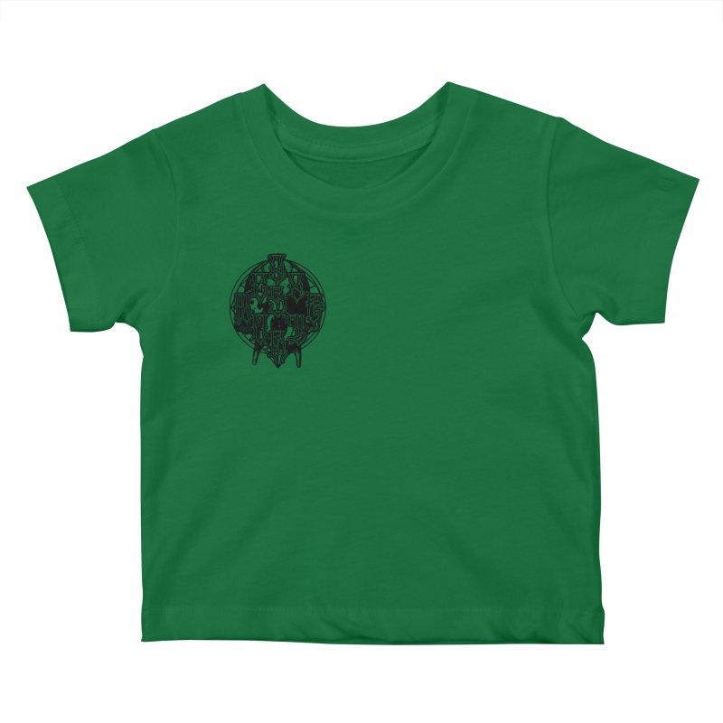 CasaNorte - WarApeB Kids Baby T-Shirt by CasaNorte's Artist Shop