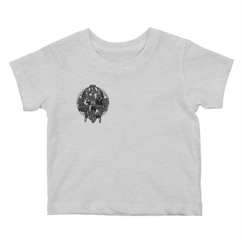 CasaNorte - WarApeB Kids Baby T-Shirt by Casa Norte's Artist Shop
