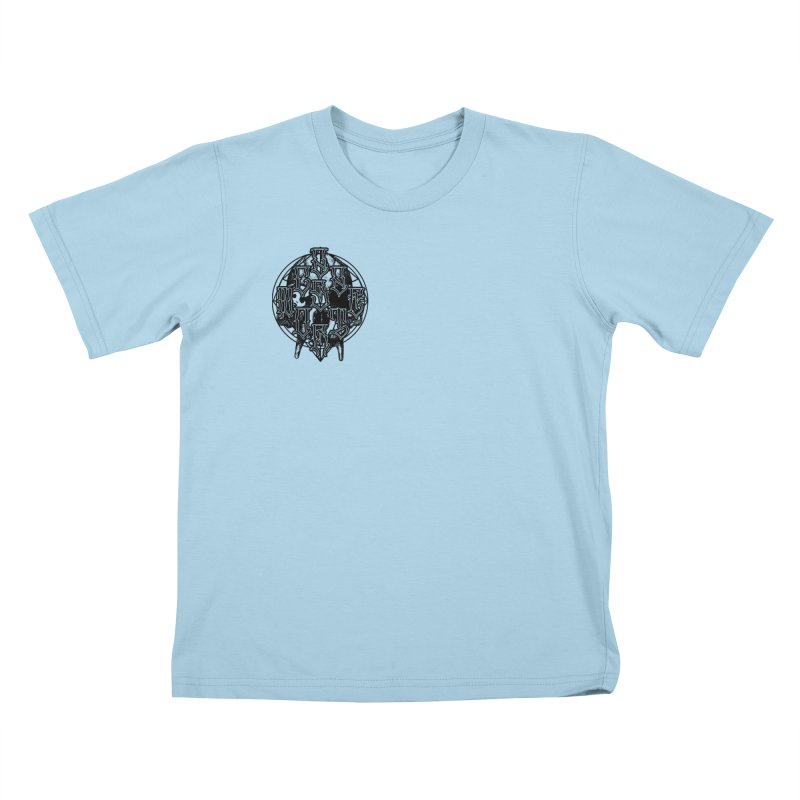 CasaNorte - WarApeB Kids T-Shirt by Casa Norte's Artist Shop