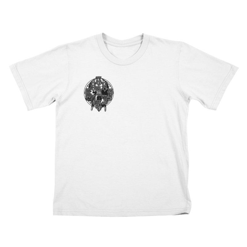 CasaNorte - WarApeB Kids T-Shirt by Casa Norte's Artist Shop