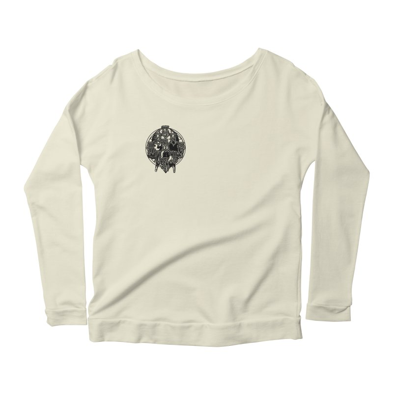 CasaNorte - WarApeB Women's Scoop Neck Longsleeve T-Shirt by CasaNorte's Artist Shop
