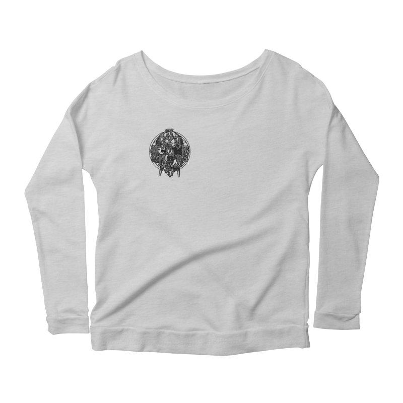 CasaNorte - WarApeB Women's Scoop Neck Longsleeve T-Shirt by Casa Norte's Artist Shop
