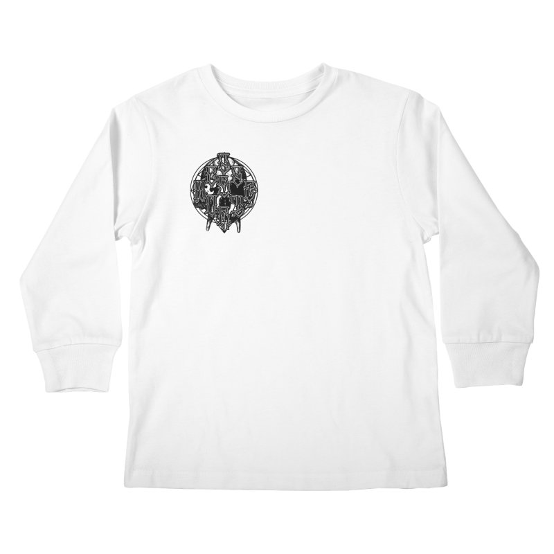 CasaNorte - WarApeB Kids Longsleeve T-Shirt by Casa Norte's Artist Shop