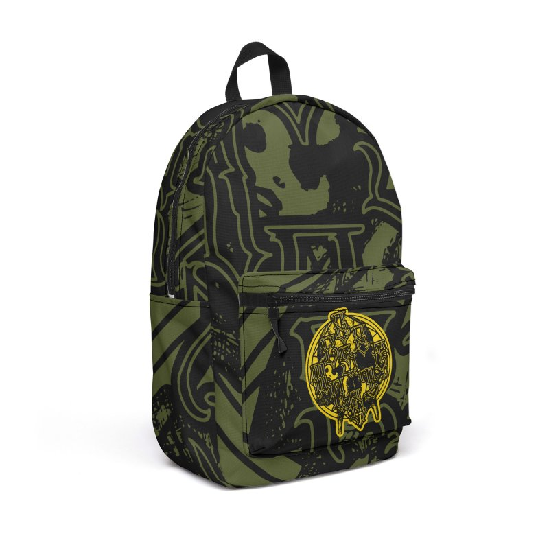 CasaNorte - WarApeY Accessories Backpack Bag by Casa Norte's Artist Shop