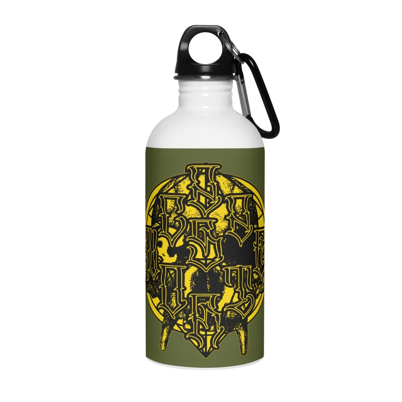 CasaNorte - WarApeY Accessories Water Bottle by Casa Norte's Artist Shop