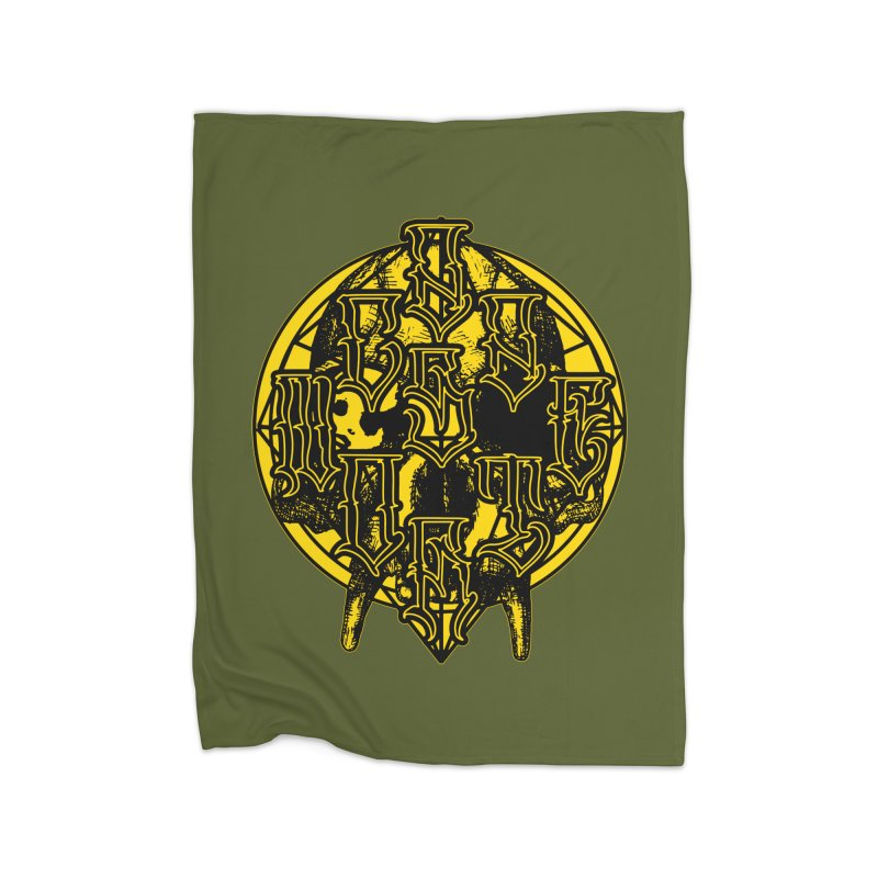 CasaNorte - WarApeY Home Fleece Blanket Blanket by Casa Norte's Artist Shop