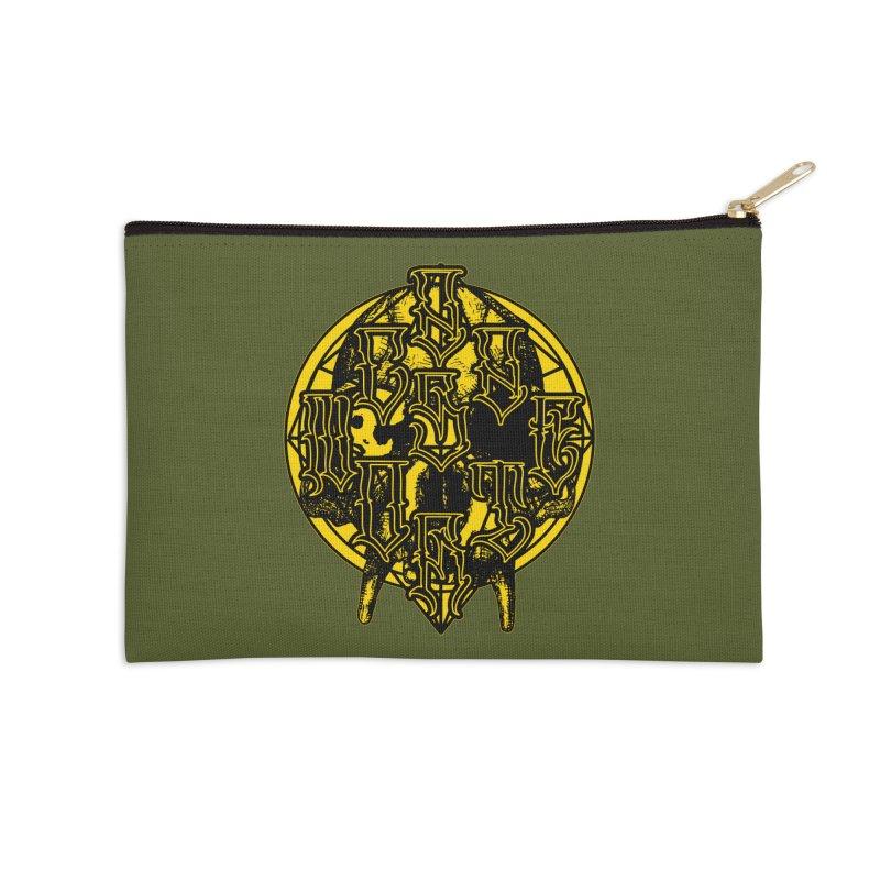 CasaNorte - WarApeY Accessories Zip Pouch by Casa Norte's Artist Shop
