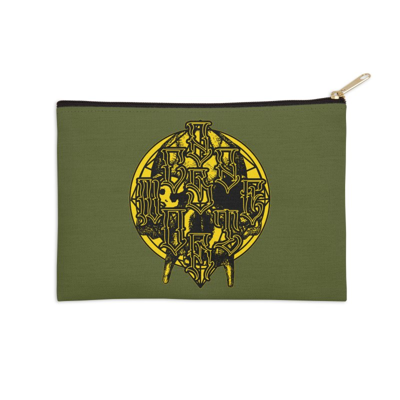 CasaNorte - WarApeY Accessories Zip Pouch by Casa Norte's Artist Shop