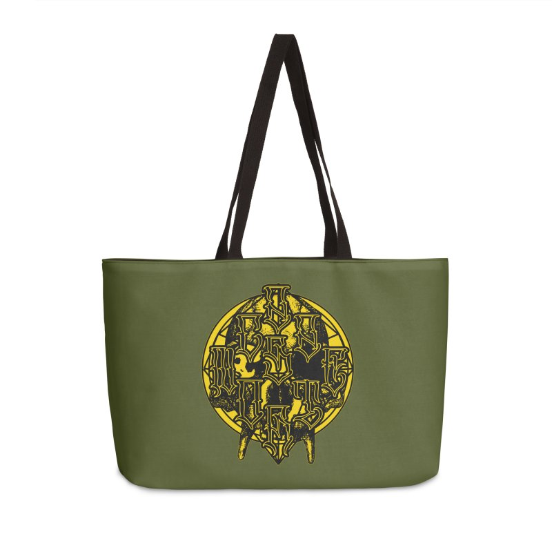 CasaNorte - WarApeY Accessories Weekender Bag Bag by Casa Norte's Artist Shop