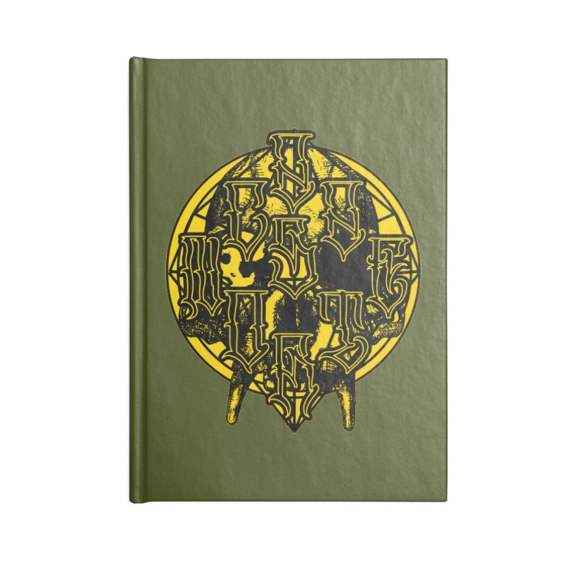 CasaNorte - WarApeY Accessories Blank Journal Notebook by Casa Norte's Artist Shop