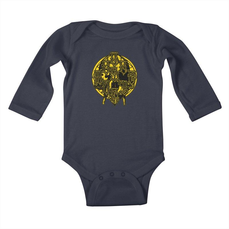 CasaNorte - WarApeY Kids Baby Longsleeve Bodysuit by Casa Norte's Artist Shop