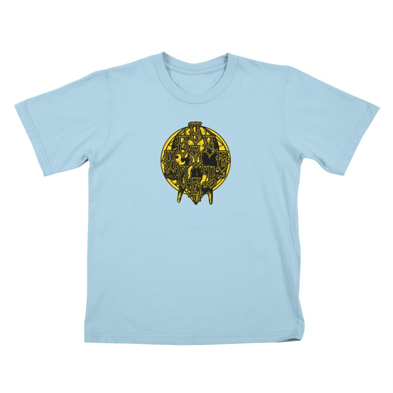 CasaNorte - WarApeY Kids T-Shirt by Casa Norte's Artist Shop