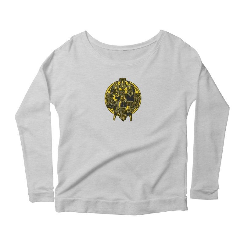 CasaNorte - WarApeY Women's Scoop Neck Longsleeve T-Shirt by Casa Norte's Artist Shop