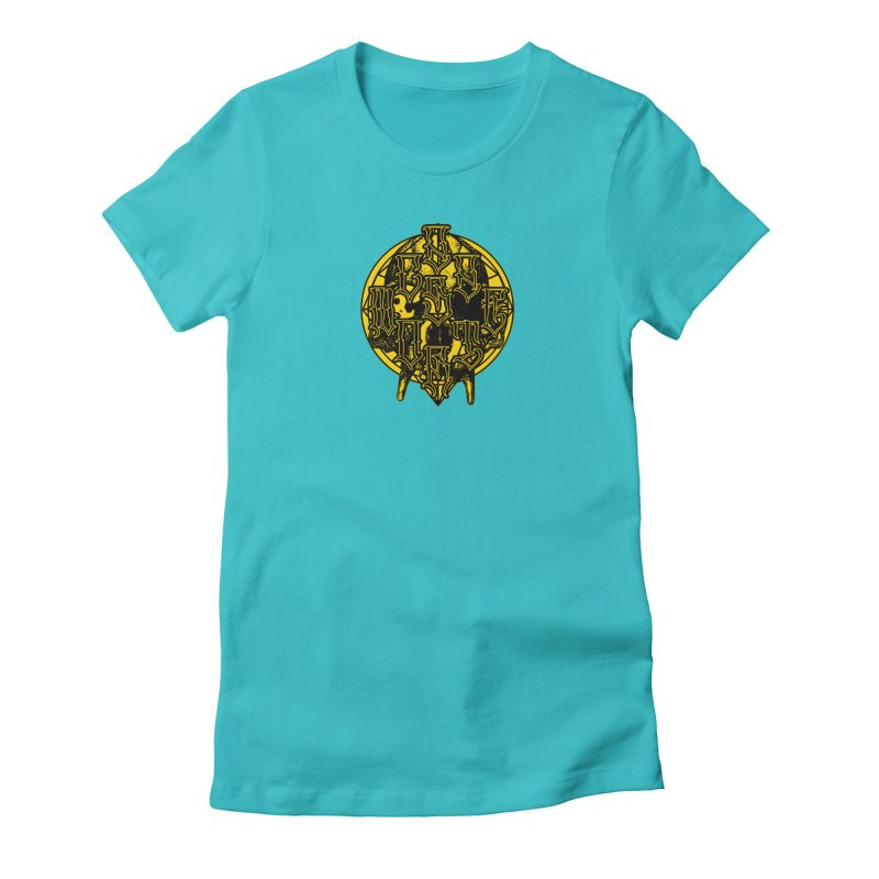 CasaNorte - WarApeY Women's Fitted T-Shirt by Casa Norte's Artist Shop
