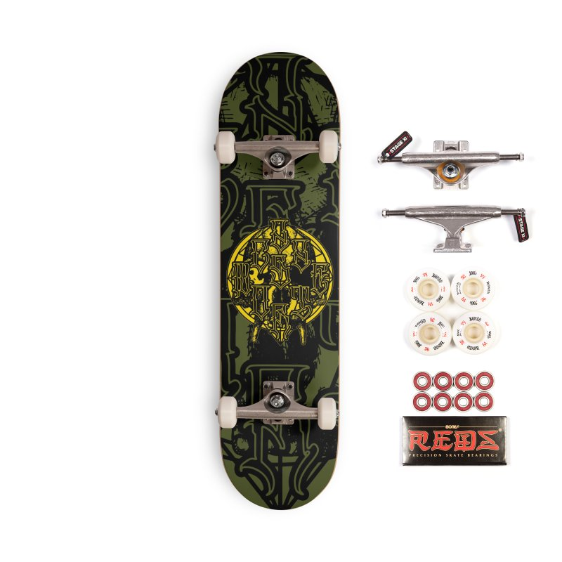 CasaNorte - WarApeY Accessories Complete - Pro Skateboard by Casa Norte's Artist Shop