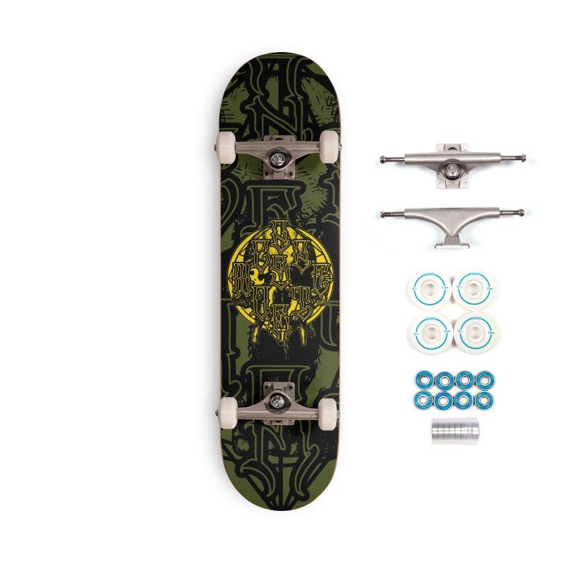 CasaNorte - WarApeY Accessories Complete - Basic Skateboard by Casa Norte's Artist Shop