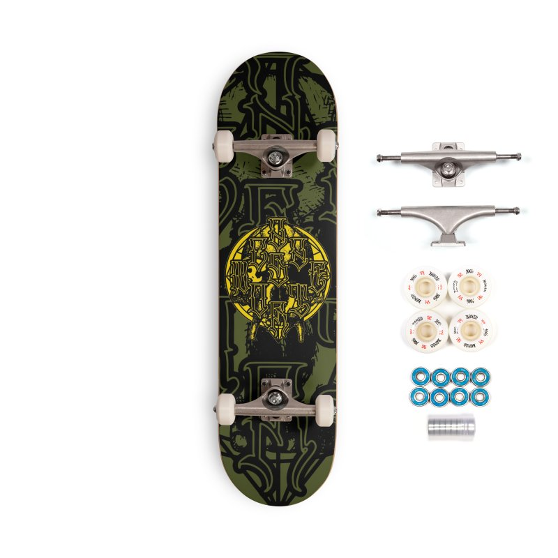 CasaNorte - WarApeY Accessories Complete - Premium Skateboard by Casa Norte's Artist Shop