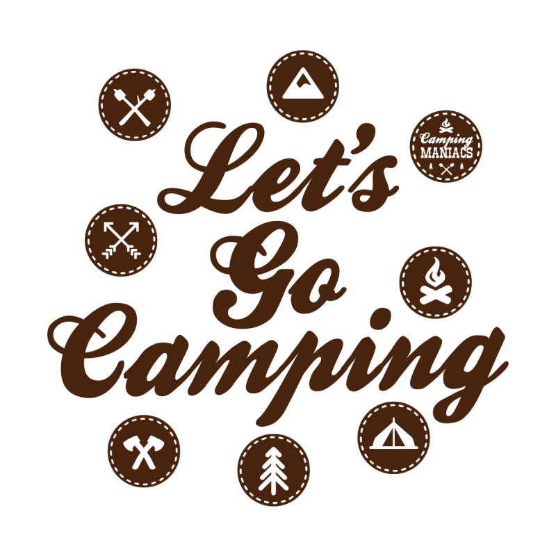 Camping Maniacs 4 Accessories Sticker by Casa Norte's Artist Shop