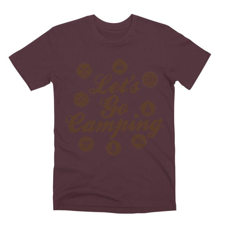 Camping Maniacs 4 Men's T-Shirt by Casa Norte's Artist Shop