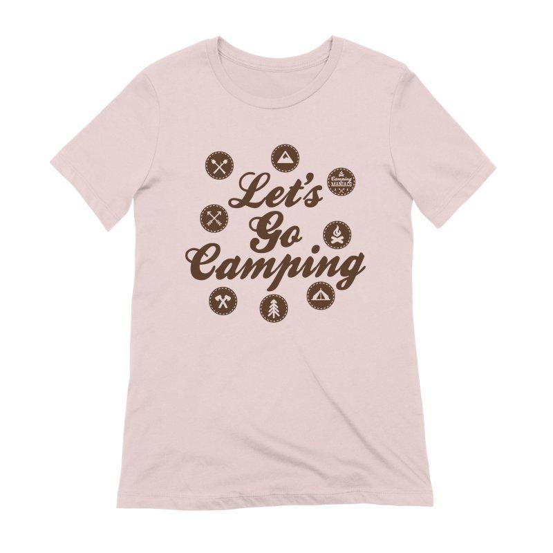 Camping Maniacs 4 Women's Extra Soft T-Shirt by Casa Norte's Artist Shop
