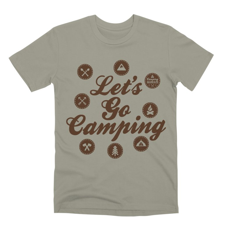 Camping Maniacs 4 Men's T-Shirt by Casa Norte's Artist Shop