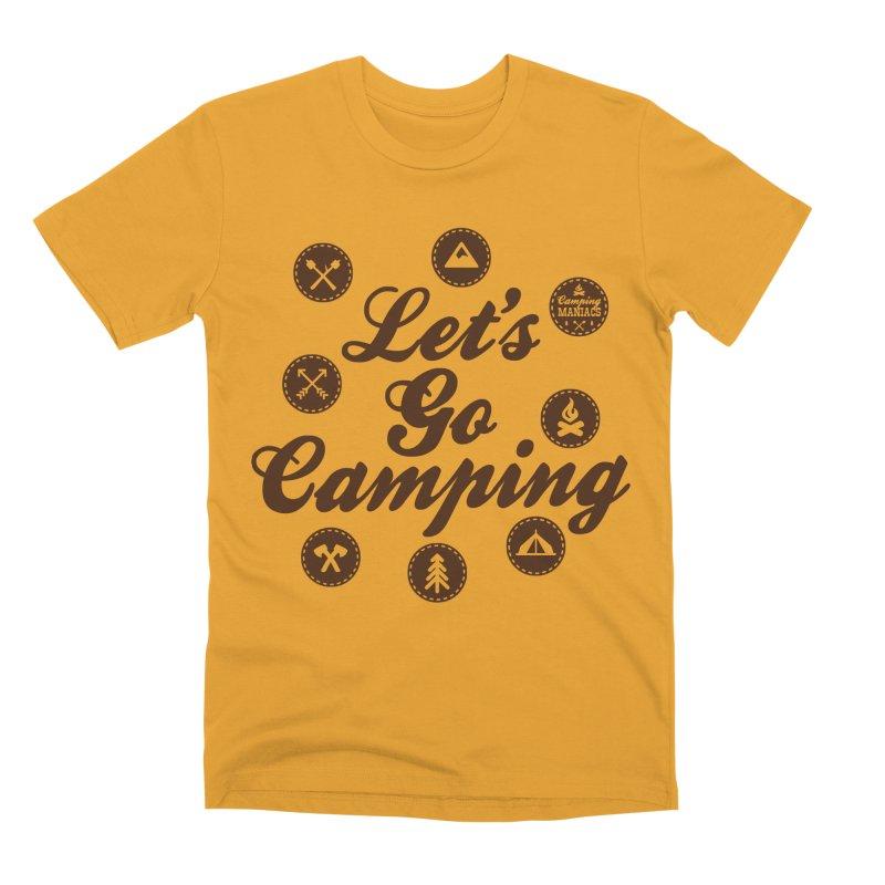 Camping Maniacs 4 Men's Premium T-Shirt by Casa Norte's Artist Shop