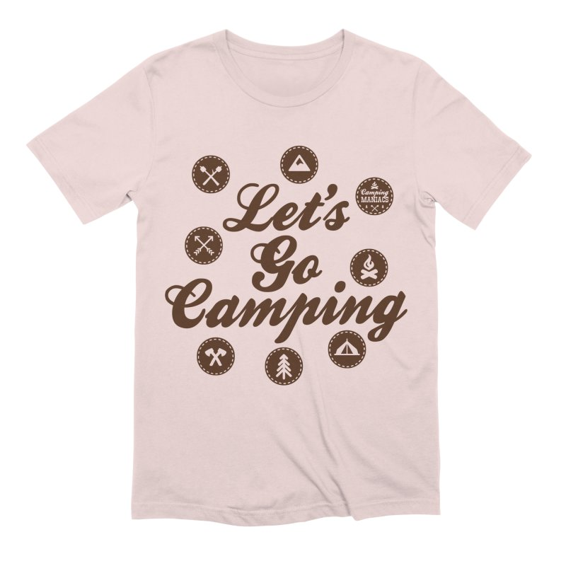 Camping Maniacs 4 Men's Extra Soft T-Shirt by Casa Norte's Artist Shop