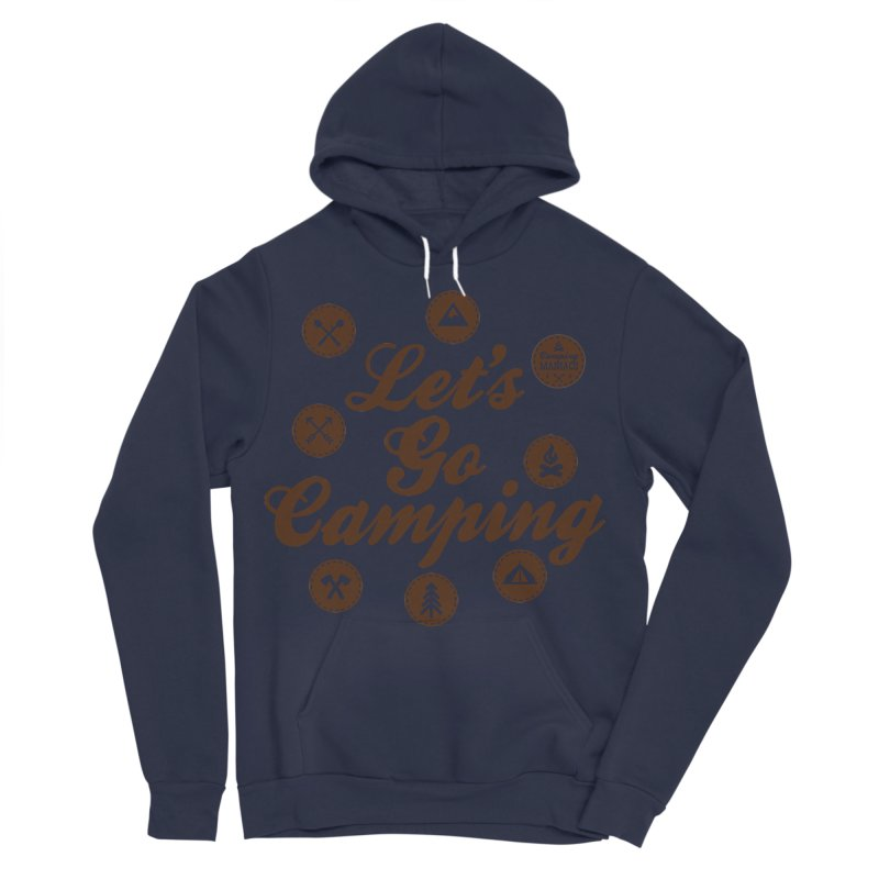 Camping Maniacs 4 Men's Sponge Fleece Pullover Hoody by Casa Norte's Artist Shop