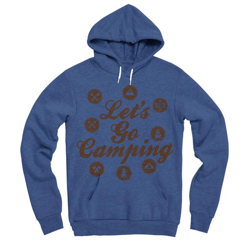 Camping Maniacs 4 Men's Sponge Fleece Pullover Hoody by Casa Norte's Artist Shop