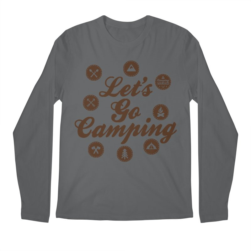 Camping Maniacs 4 Men's Longsleeve T-Shirt by Casa Norte's Artist Shop