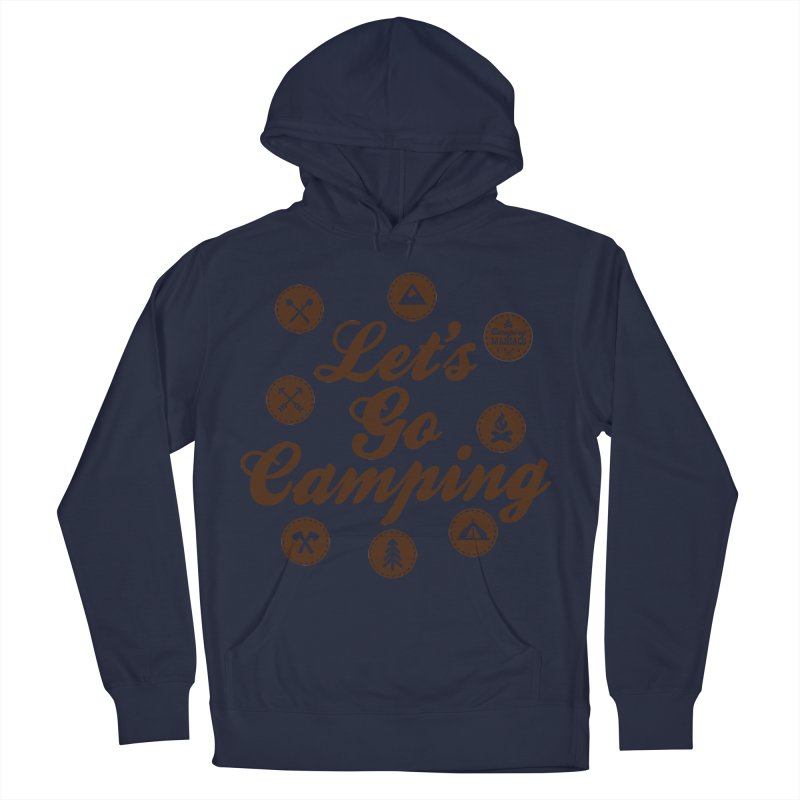 Camping Maniacs 4 Men's French Terry Pullover Hoody by Casa Norte's Artist Shop