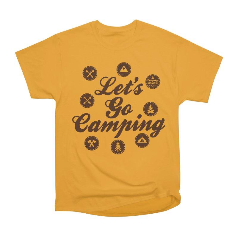 Camping Maniacs 4 Men's Heavyweight T-Shirt by Casa Norte's Artist Shop