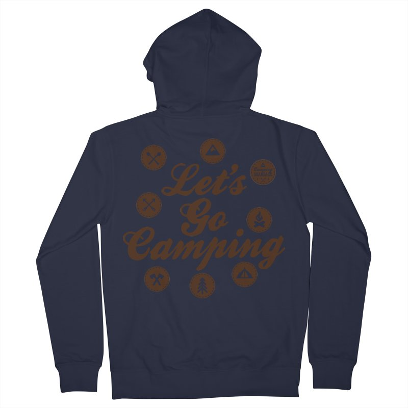 Camping Maniacs 4 Women's French Terry Zip-Up Hoody by Casa Norte's Artist Shop