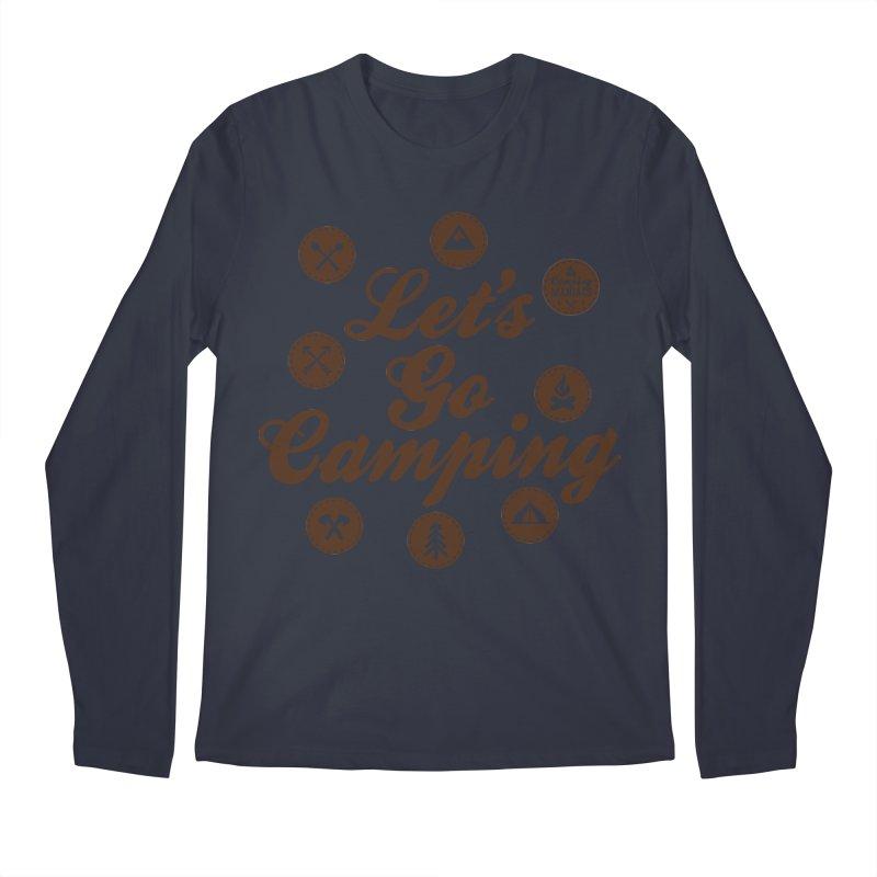 Camping Maniacs 4 Men's Regular Longsleeve T-Shirt by Casa Norte's Artist Shop
