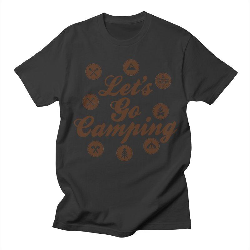 Camping Maniacs 4 Men's Regular T-Shirt by Casa Norte's Artist Shop