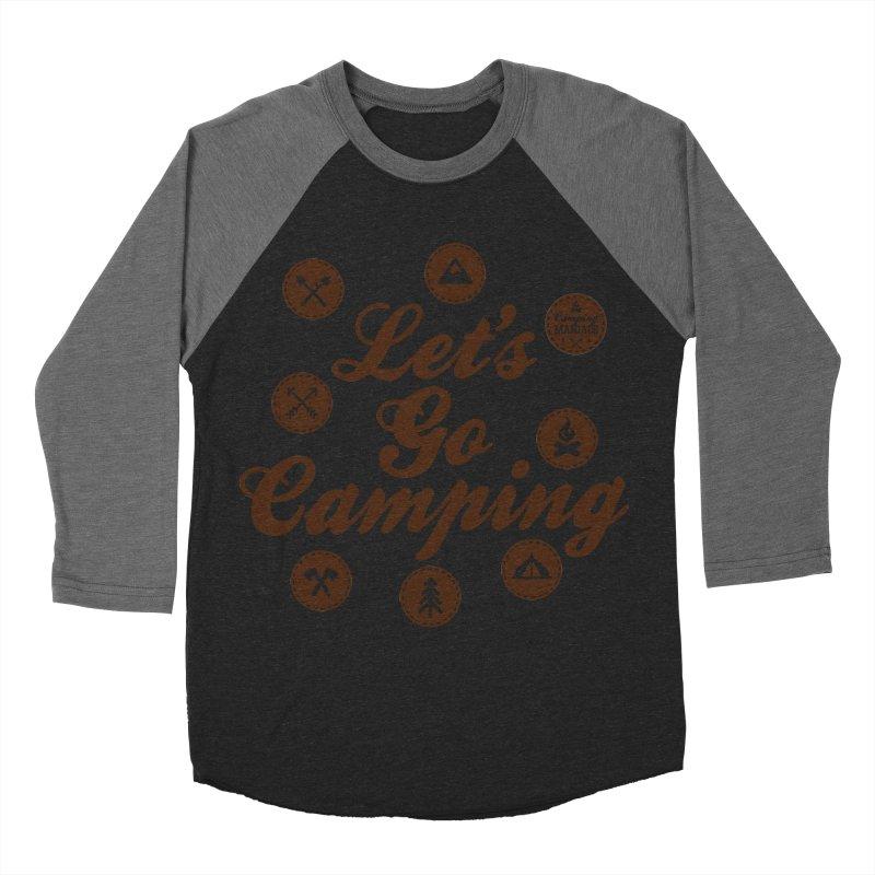 Camping Maniacs 4 Women's Baseball Triblend Longsleeve T-Shirt by Casa Norte's Artist Shop