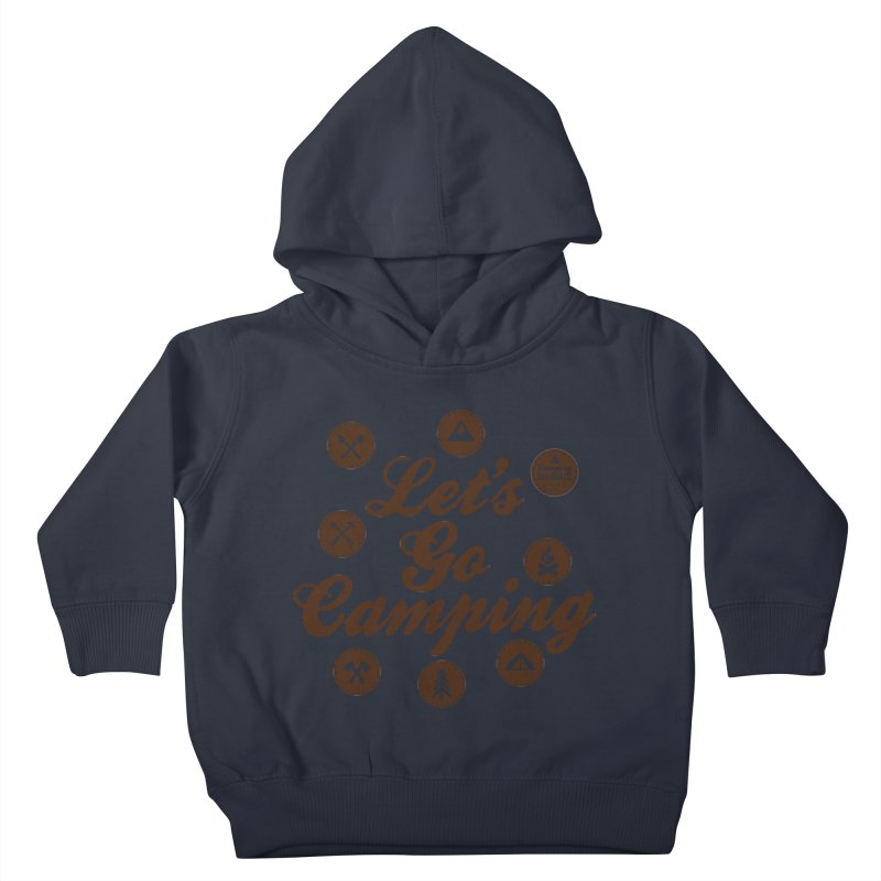 Camping Maniacs 4 Kids Toddler Pullover Hoody by CasaNorte's Artist Shop