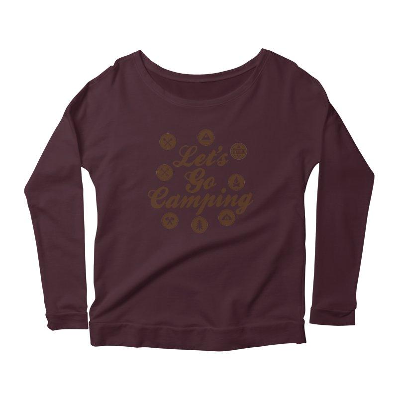 Camping Maniacs 4 Women's Longsleeve T-Shirt by Casa Norte's Artist Shop