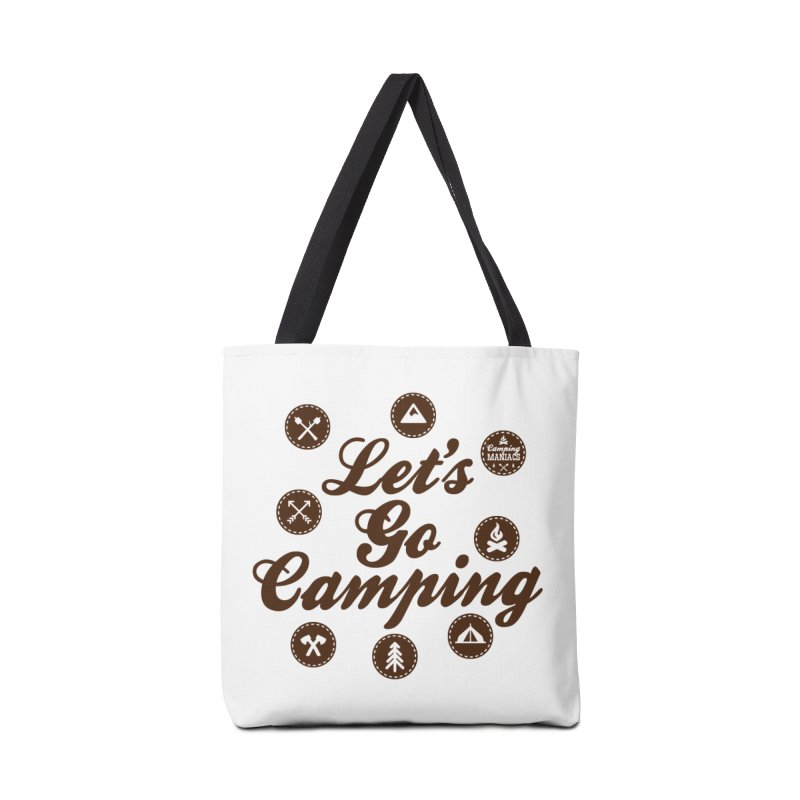 Camping Maniacs 4 Accessories Tote Bag Bag by Casa Norte's Artist Shop