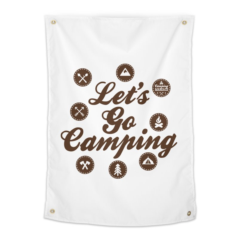 Camping Maniacs 4 Home Tapestry by CasaNorte's Artist Shop