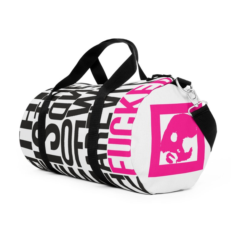 CasaNorte - Note Accessories Duffel Bag Bag by Casa Norte's Artist Shop