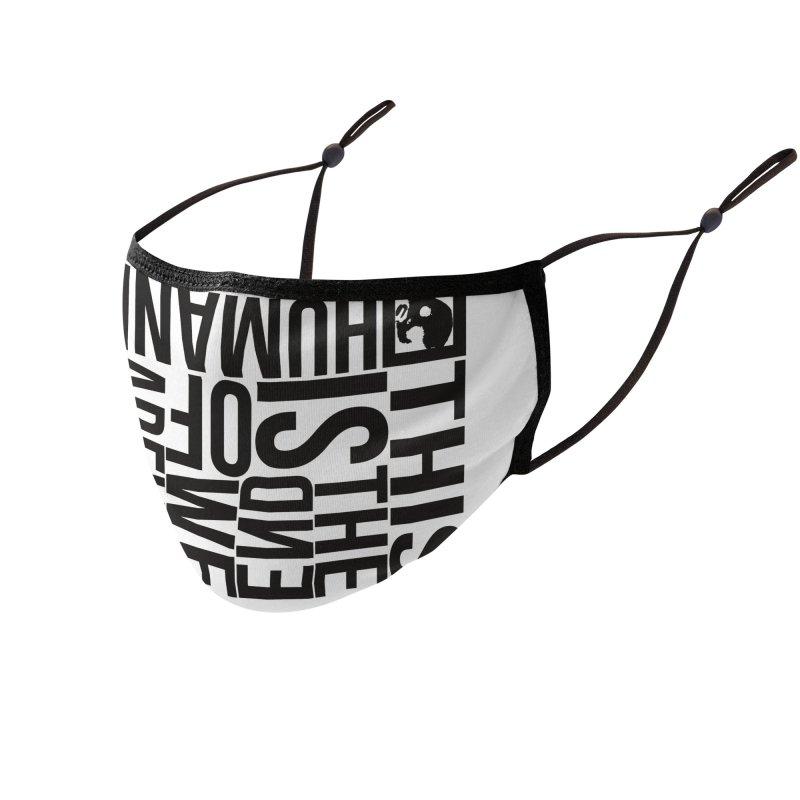 CasaNorte - Note Accessories Face Mask by Casa Norte's Artist Shop