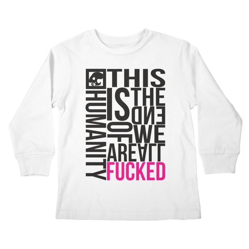 CasaNorte - Note Kids Longsleeve T-Shirt by Casa Norte's Artist Shop