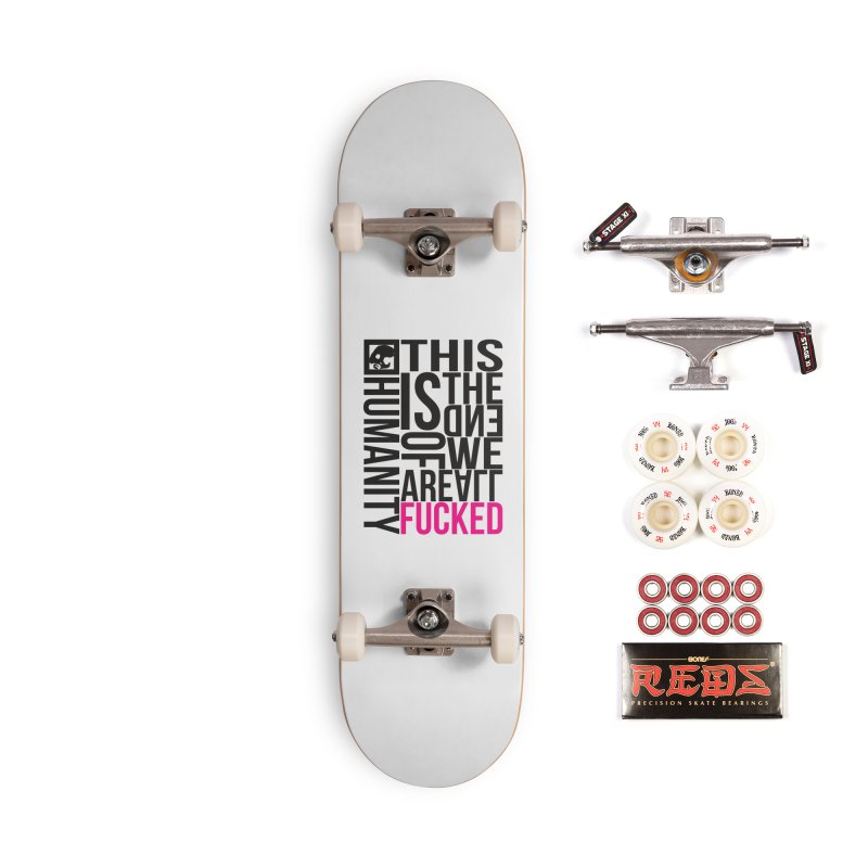 CasaNorte - Note Accessories Complete - Pro Skateboard by Casa Norte's Artist Shop